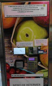 Distributeur de fruits et légumes 24/24